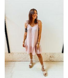 MILA TETRA DRESS LIGHT PINK