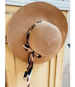 SOPHIA BROWN STRAW HAT
