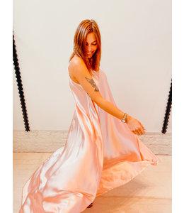 ELISE MAXI LOOSE DRESS - PINK