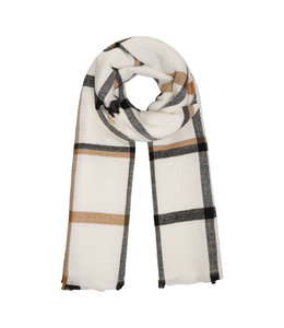 AUDREY CHECKED SCARF