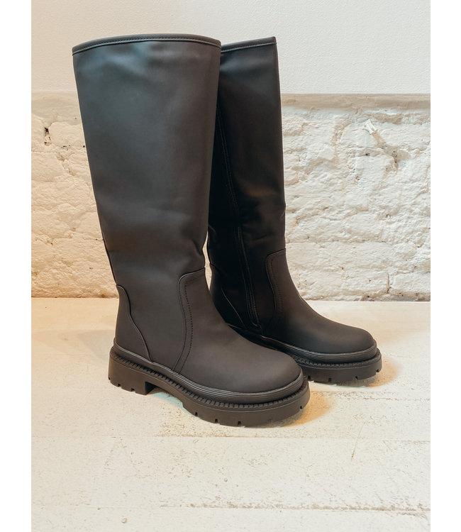 CARRIE RAIN BOOTS - BLACK