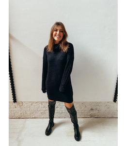 ALEX KNIT DRESS - BLACK