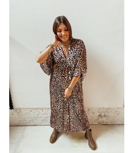 SAFIRA MAXI DRESS - LEO