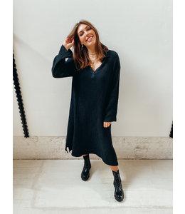 BIANCA LONG DRESS - BLACK