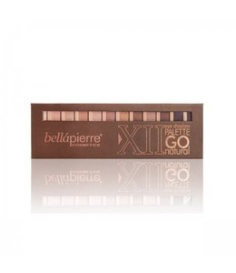 BELLAPIERRE EYESHADOW PALETTE GO NATURAL