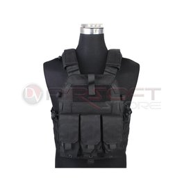 EMERSON Tactical Vest with M4 pouches - BK