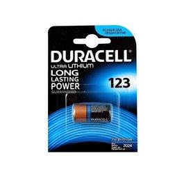 DURACELL Ultra Lithium CR123A 3V Batterij
