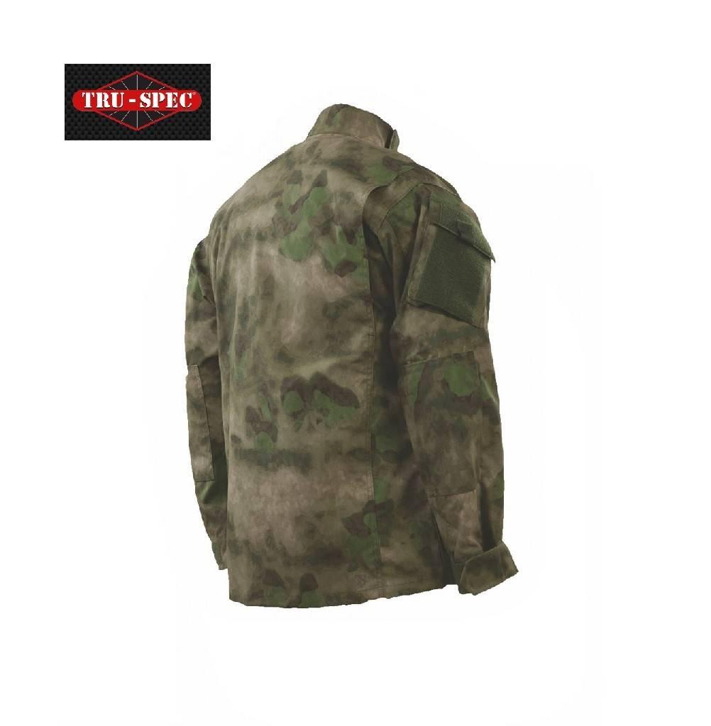 TRU-SPEC Tru-Spec Shirt/Jacket, A-TACS FLG NYCO R/S,