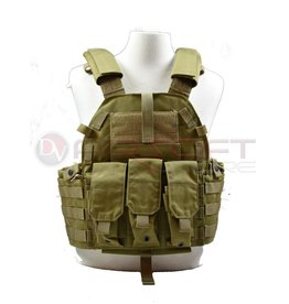 EMERSON Tactical Vest with M4 pouches - KH