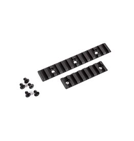 Dytac Rail Slot RAS Set - 1 x 12 and 1 x 7 - BK