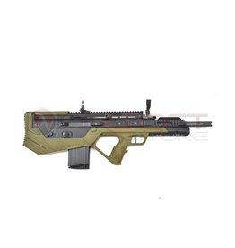 SRU Scar-H Bullpup Gas - BK/OD