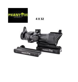 Phantom Riflescope 4X32 ACG - BK