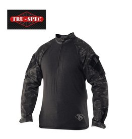 TRU-SPEC TRU 1/4 ZIP COMBAT SHIRT - MC BK
