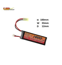 VB Power 7.4V 1600mAh Lipo 20C Mini