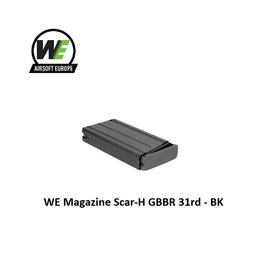 WE (Wei Tech) WE Magazine Scar-H GBBR 31rd - BK