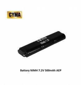 CYMA Battery NiMH 7.2V 500mAh AEP