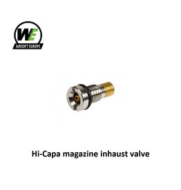 WE Europe Hi-Capa magazine inhaust valve