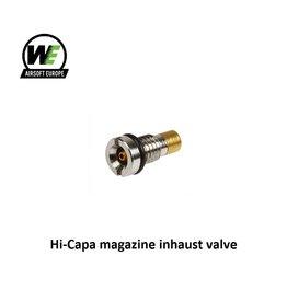 WE (Wei Tech) Hi-Capa magazine inhaust valve