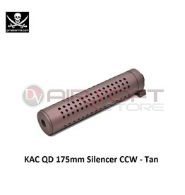 PIRATE ARMS KAC QD 175mm Silencer CCW - Dark Bronze