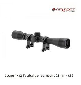 RTI Scope 4x32 Tactical Series mount 21mm - c25