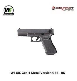 WE Europe WE18C Gen 4 Metal Version GBB - BK