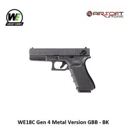 WE (Wei Tech) WE18C Gen 4 Metal Version GBB - BK