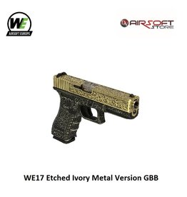 WE (Wei Tech) WE17 Etched Ivory Metal Version GBB