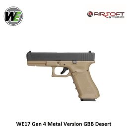 WE Europe WE17 Gen 4 Metal Version GBB Desert