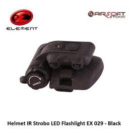 Element Helmet IR Strobo LED Flashlight EX 029 - Black