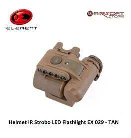 Element Helmet IR Strobo LED Flashlight EX 029 - TAN