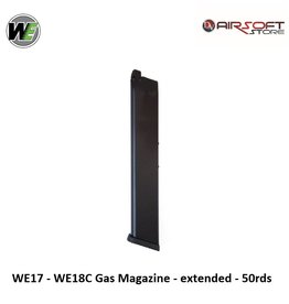 WE Europe WE17 - WE18C Gas Magazine - extended - 50rds