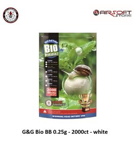 G&G G&G Bio BB 0.25g - 2000ct - white