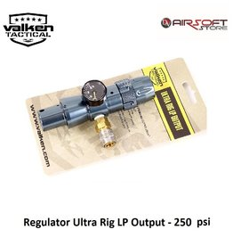 VALKEN Regulator Ultra Rig LP Output - 250 psi