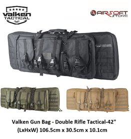 VALKEN Airsoft Gun Bag - Double Rifle Tactical-42""