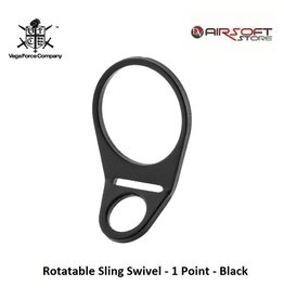 VFC Rotatable Sling Swivel - 1 Point - Black