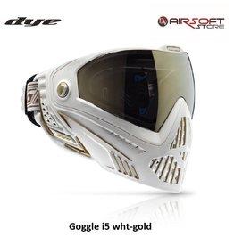 DYE PRECISION Goggle i5 wht-gold