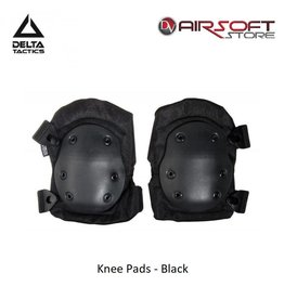 Delta Tactics Knee Pads - Black