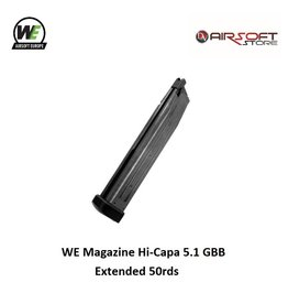 WE Europe Magazine WE Hi-Capa 5.1 GBB Extended 50rds