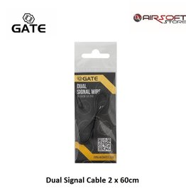 Gate Doppel Signalkabel 2 x 60cm