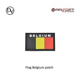 Delta Victor Flag Belgium patch