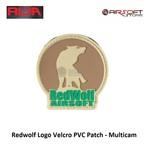 Redwolf Redwolf Logo Velcro PVC Patch - Multicam