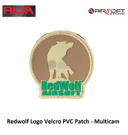 Redwolf Redwolf Logo Velcro PVC Patch - Multicam