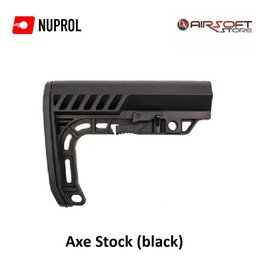 NUPROL Axe Stock (schwarz)
