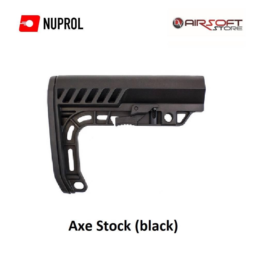 NUPROL Axt Stock (schwarz)