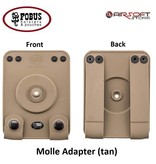 FOBUS Molle Adapter (tan)