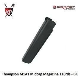 King Arms Thompson M1A1 Midcap Magazine 110rds - BK