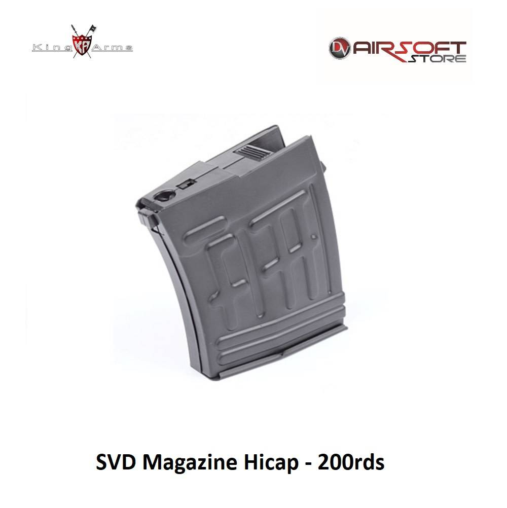 King Arms SVD Magazine Hicap - 200rds