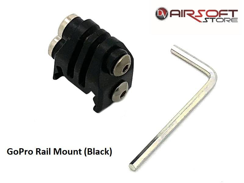 GoPro Rail Mount (Black)