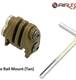 GoPro Rail Mount (Tan)