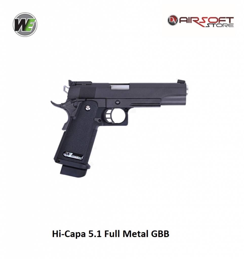 WE Europe Hi-Capa 5.1 Full Metal GBB